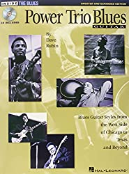 Dave Rubin Power Trio Blues Updated & Expanded Edition Gtr Book/Cd