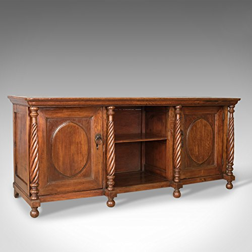 London fine di antiquariato antico credenza, coloniale, fruitwood, armadio, early 20th century