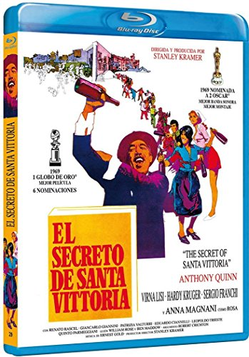 El Secreto De Santa Victoria [Blu-ray] [Spanien Import]