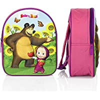 Masha and the bear - Masha e l'orso - Backpack 3D Misure 25x31x12cm.