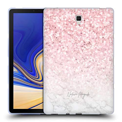 fizielle Nature Magick Pink Funkel Rosa Gold Marmor Glitzer Soft Gel Huelle kompatibel mit Samsung Galaxy Tab S4 10.5 (2018) ()