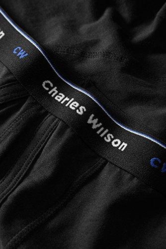 4er PACKUNG - Charles Wilson Boxershorts Schwarz
