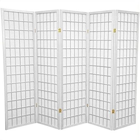 Oriental Furniture Best Deal Value Office Cubicle Divider, 5-Feet Japanese