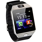 AmYin Bluetooth Android Watch Phone con fotocamera D91 (Argento)