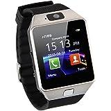 AmYin Bluetooth Android reloj teléfono con cámara D91 (Plata)