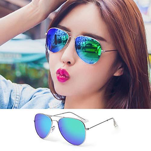 Pig pecs Unisex Mode Polarisiert Oversize Sonnenbrille,Gläser,UV400 Schutz,100% UV-Schutz,Ultraleicht Metallrahmen,Ideal zum Autofahren Angeln Städtetouren,Q,Polarizedlight