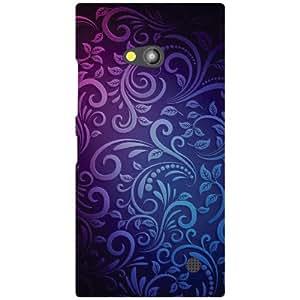 Back Cover For Nokia Lumia 730 (Printed Designer)