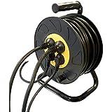 Enrouleur electrique 25 metres 3Gx1.5mm2 4 prises