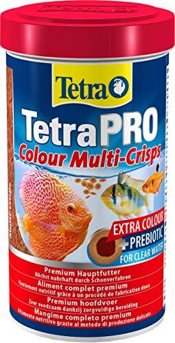 Tetra Pro Colour Premiumfutter für tropische Zierfische, 500 ml Dose