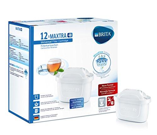 Brita Maxtra+ Pack 12 Cartouches Blanc 24,8 x 12,3 x 24 cm