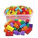 Bausteine, die Spielwarengeschenke große Partikelbausteine Plastikblöcke magische Kasten 3-6 Jahre alte Jungen und Mädchenkinderbaby frühe Ausbildung zusammenbauen Kaizhi pädagogische Spielwaren
