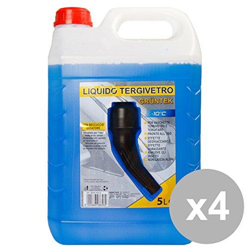 gruntek-set-4-liquido-lavavetri-start-10-le-con-tappo-versatore-auto-manutenzione