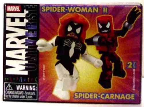 Marvel Minimates Series 10: spider-carnage & spider-woman 2by Diamond Select