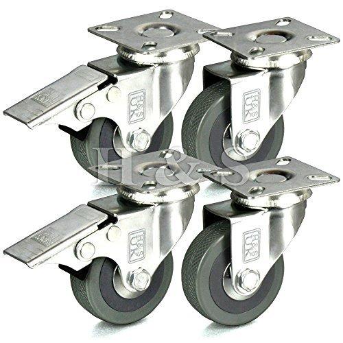 hs-4-x-heavy-duty-50mm-rubber-swivel-castor-wheels-trolley-furniture-caster-brake