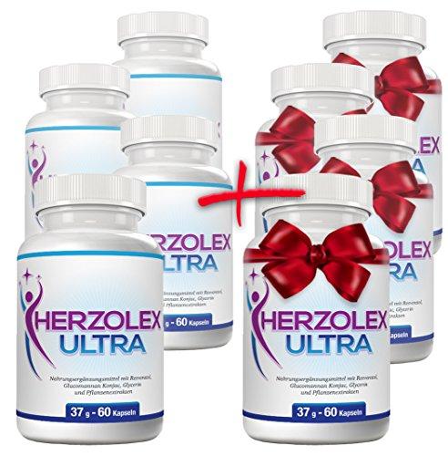 Herzolex Ultra – 4 Flaschen + 4 gratis dazu (8 Flaschen)