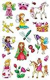 AVERY Zweckform 53208 Kinder Sticker Feen 34 Aufkleber