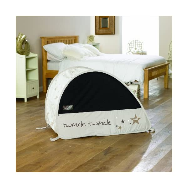 Koo-di 100 x 60 x 73 cm Sun and Sleep Pop Up Travel Bubble Cot  A comfortable cot ideal for use at home and on holidays or weekends away A polycotton travel cot Ideal 6-18 months and when outgrown, makes an ideal playhouse for little ones 4