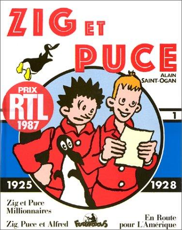 Zig et Puce, tome 1 : 1925-1928