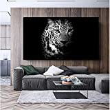 zgwxp77 Animal posters and prints on canvas abstract leopard black and white art mural