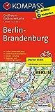Berlin-Brandenburg: Großraum-Radtourenkarte 1:125000, GPX-Daten zum Download: 2-delige fietskaart 1:125 000 (KOMPASS-Großraum-Radtourenkarte, Band 3703)