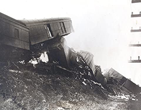 POSTER wreck Southern Railway train August 15 1930 Object number A 2009 47 Medium paper photo emulsion Wreckage a Southern railway train that crashed after striking a cow late at night near Chappels South Carolina locomotive two mail coaches a Pullman passenger car were among most heavily damaged cars No passengers were injured but train's engineer firemen were killed Railway Post Office clerks George Mulligan D A Shealy
