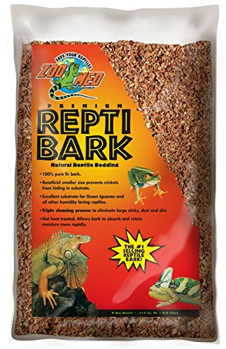 Repti Bark 8,8 Liter Douglasienrinde erhoeht die Luftfeuchtigkeit im Terrarium