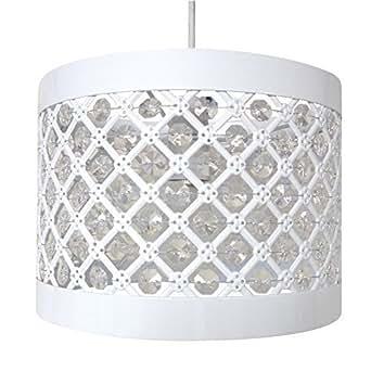 Easy Fit Moda Suspension Plafond Abat-Jour Décoration Moderne