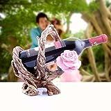 DAZHOU-Vin créative porte gobelet bois vin rack vin plate-forme européenne d'ornements de présentoir goblet, racine d'arbre