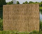 Schilfrohrplatten für Wärmedämmung 125 x 200cm mit 5cm - Sichtschutzzäune Sichtschutzwand Gartensichtschutz Balkonsichtschutz Winschutz Sichtschutzwand für Garten und Terasse Blichschutz für Balkon Sichtschutzwände Sichtschutzwände --> großes Sortiment an Sichtschutz, Bambus, Schilf und Naturprodukte für Garten