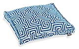 H.O.C.K. Gauzy Outdoor Kissen 40x40x5cm blue No.16 colblo