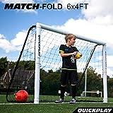 QUICKPLAY Match Klapp-Fußballtor 1.8 x 1.2m