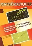 Mathématiques 1res et terminales professionnelles
