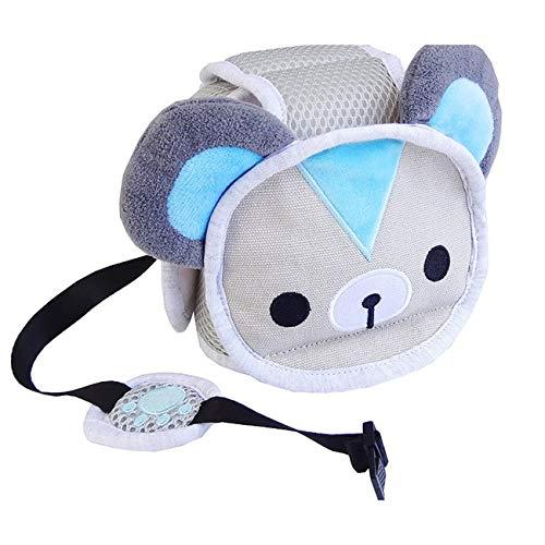 Elviray Baby Anti-Fall-Kopfschutzkappe Baby Kleinkind Anti-Kollisions-Hütte Bruchsichere Hütte Kind Schutzhelm Kopfbedeckungen Bär