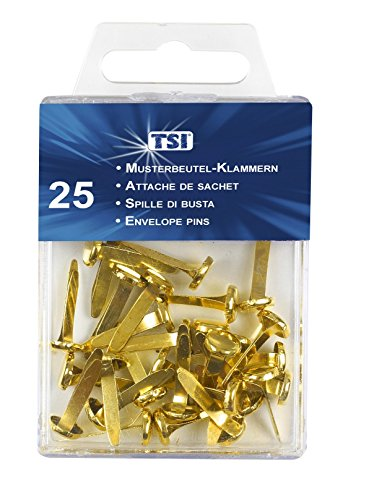 TSI Paper Fasteners Pack of 25 Test