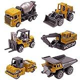 Dreamon Coches y Camión de Juguete , Pack de 6 Vehículos para Niños...