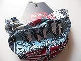MaxiMo Jungen Halstuch, Multifunktionstuch, bedruckter Jersey, UPF 50+, Gr. 1, Mehrfarbig (blau-Antarctica)