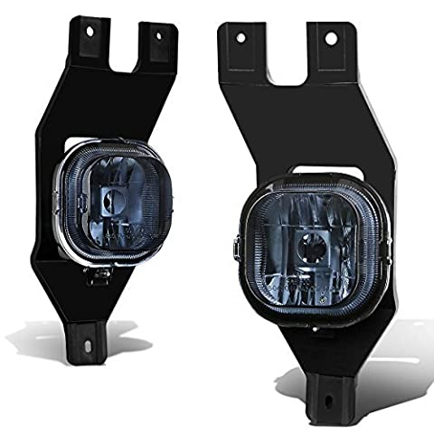 Ford Super Duty/Excursion Pair of Bumper Driving Fog Lights (Smoke Lens) by Auto Dynasty