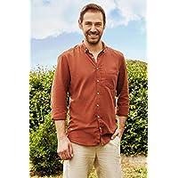 DeFacto Erkek Günlük Tek Cep Slim Fit Gömlek
