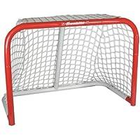 Franklin Mini Streethockey-Tor NHL Steel Goal I Outdoor-Tor I Mini Stahlrahmen-Tor I Garten Puck-Tor I Tor für Hockeybälle & Pucks I Streethockey-Training I Indoor-Tor I Lacrosse I Feldhockey - Rot