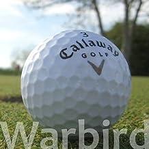 50 CALLAWAY WARBIRD PELOTAS DE GOLF RECUPERADAS/LAKE BALLS - CALIDAD AAA/AA (A/B GRADE) - EN BOLSA DE RED