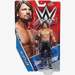 AJ STILI NERO ABBIGLIAMENTO 'The fenomenale UNO'- WWE BASE SERIE 73 wrestling action figure