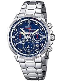Festina Herren-Armbanduhr TIMELESS Chronograph Quarz Edelstahl F6836-3