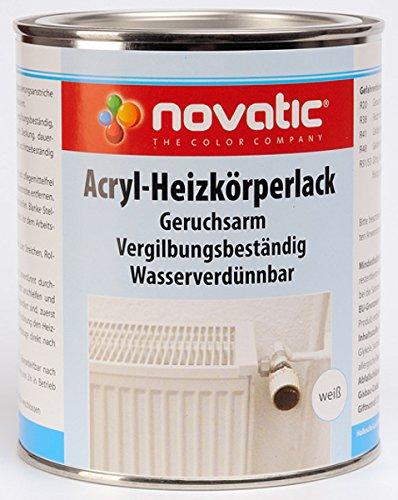 novatic Acryl-Heizkörperlack, weiß
