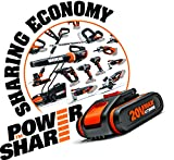 Worx WX366.5 10mm / 20V Hammer Drill with 2 Max Lithium-Ion Batteries