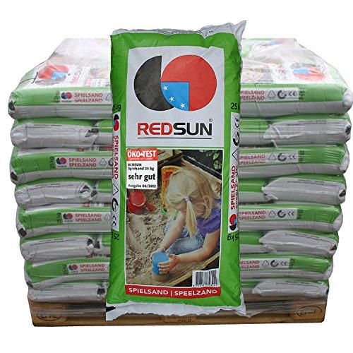 Preisvergleich Produktbild 1 Palette ÖKO Buddel- und Spielsand 48 Sack á 25 kg = 1200 kg Sandkastensand