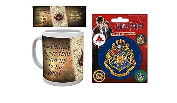 Harry Potter Karte Des Rumtreibers Tattoo.Set Harry Potter Karte Des Rumtreibers Foto Tasse