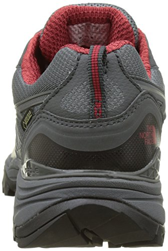 The North Face Hedgehog Fastpack GTX (EU), Scarpe da Arrampicata Basse Uomo Grigio (Zinc Grey/rudy Red)