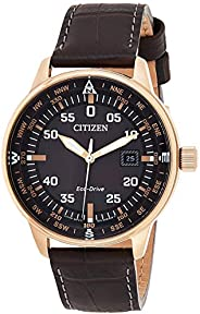 Citizen Women's White Dial Leather Band Watch - EL3040