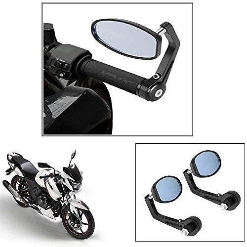 vheelocity motorycle bar end mirror rear view mirror ovalfor tvs apache rtr 160 Vheelocity Motorycle Bar End Mirror Rear View Mirror OvalFor Tvs Apache Rtr 160 51XVYyD90BL