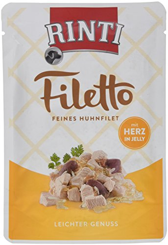Rinti Filetto Huhnfilet mit Herz in Jelly, 1er Pack (1 x 100 g)